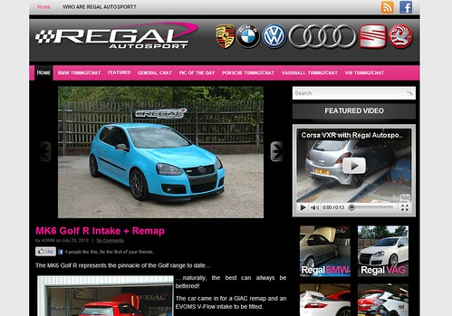 New Regal Autosport Blog