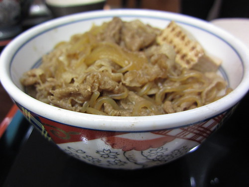 吉野家牛鍋丼