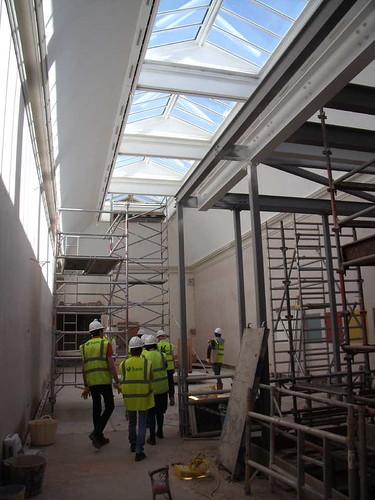 Top Floor Gallery with New Roof