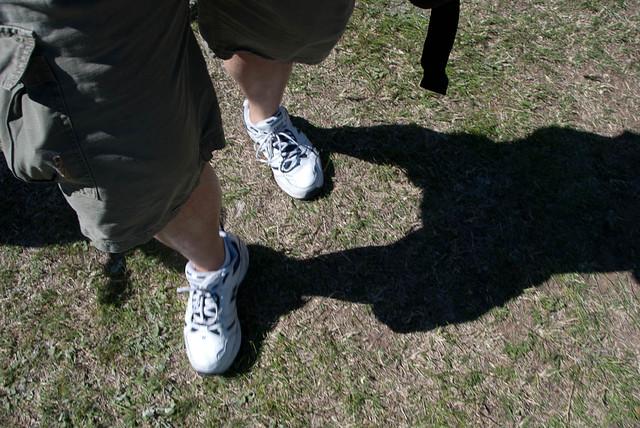 Photo of my feet