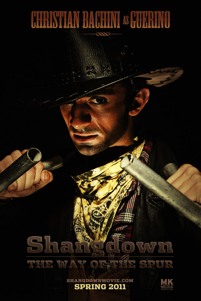 SHANGDOWN: THE WAY OF THE SPUR - Character Poster Guerino