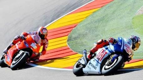 JG Motor - Lorenzo vs Hayden