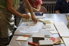 Accordion book binding workshop