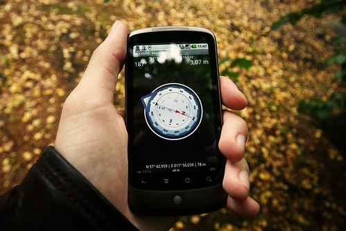 Geocaching by Johan Larsson, on Flickr