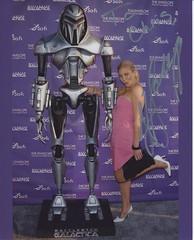 Katee Sackhoff Battlestar Galactica CSI Cylon