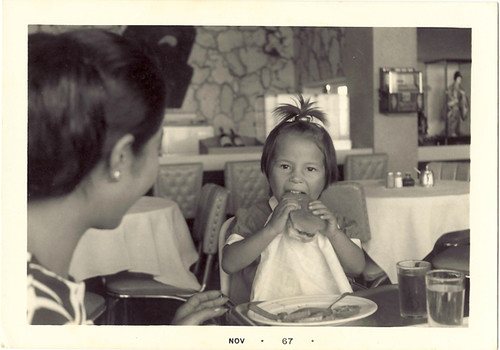 A big eater... even at 3 years old!