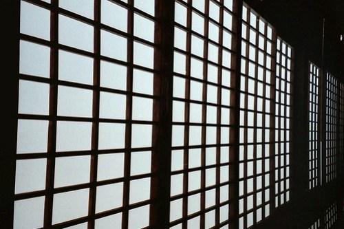 Japanese paper walls
