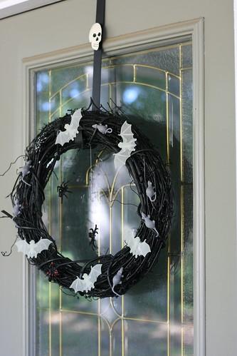 She's crafty: my $9 wreath