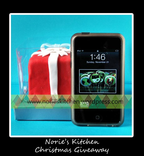 Norie's Kitchen - Christmas Giveaway - Scale Shot