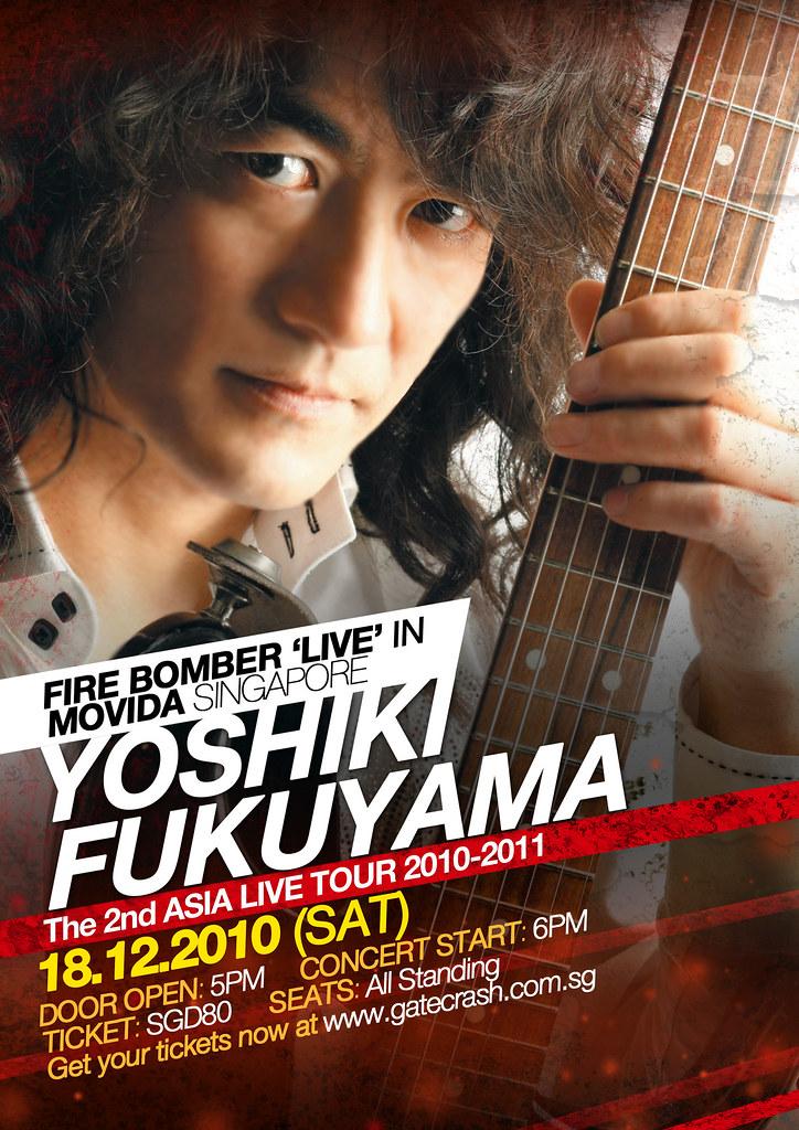 YOSHIKI FUKUYAMA The 2nd Asia Live Tour 2010-2011