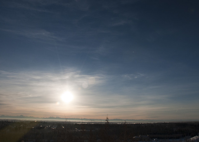 Blue Skies Returning