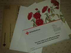 Red Cross notelets