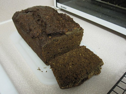 Whole-wheat molasses bread