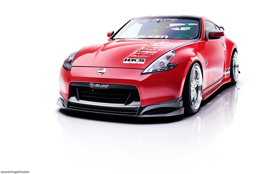 Nissan 370Z UPC Studio Sessions