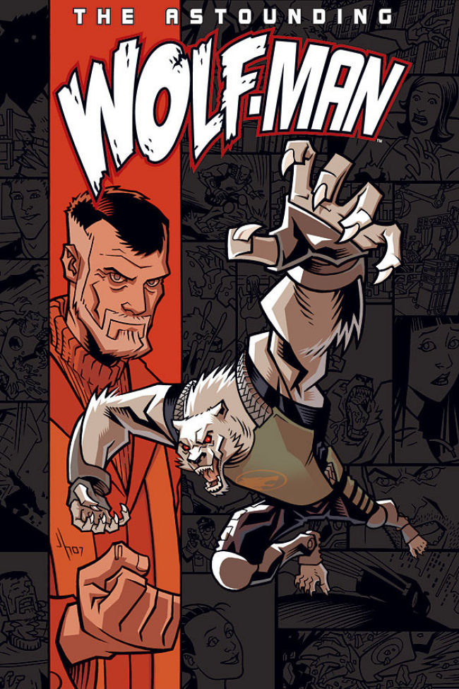 Astounding Wolf-Man Volume 1