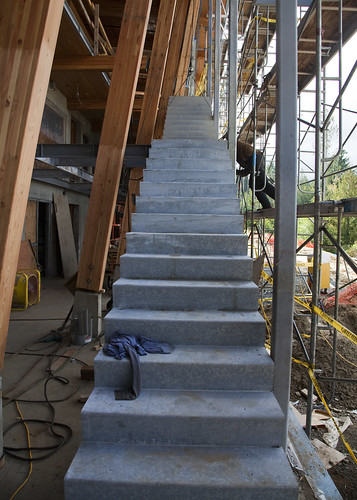 New Inside Stairs - from bottom