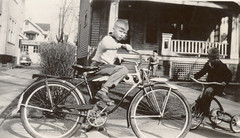 Roger on Richland Avenue with Schwinn Bicycle