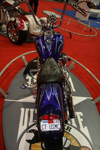 2010 San Mateo - House of Thunder's Springer - Ultimate Builder Custom Bike Show