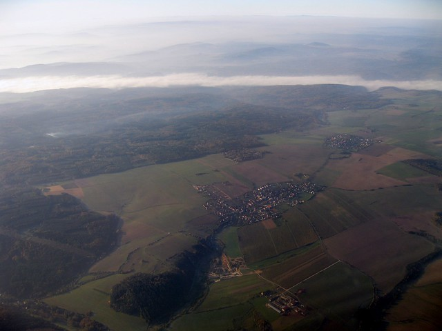 Bohemia from above