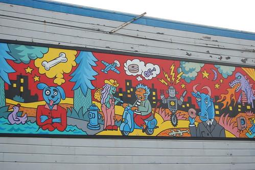 Inharmonious Mural.