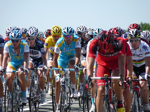 The front of the peloton - TDF