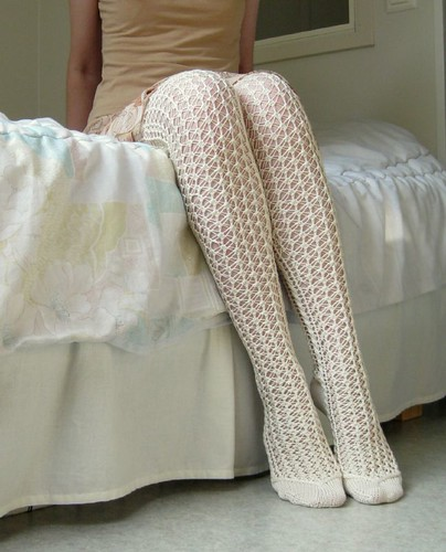 Lace stockings5