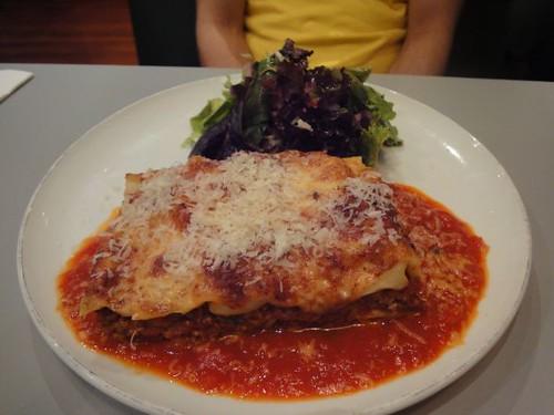 Veal lasagne