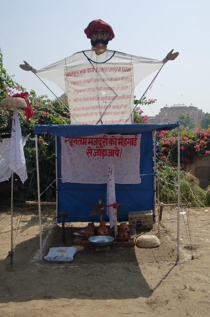 Pics from the satyagraha - 8 Oct 2010 - 5