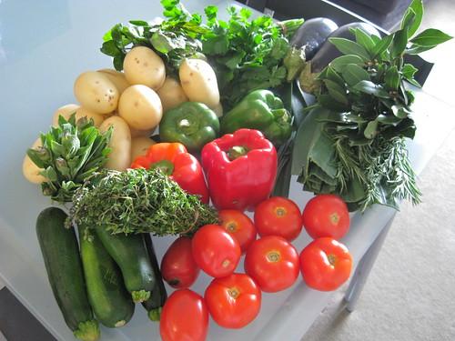 Vegetable loot