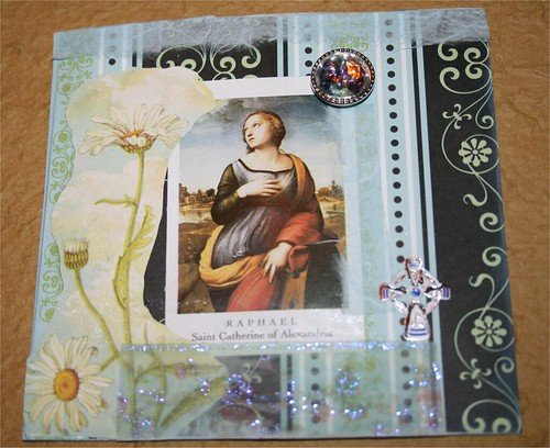 "St. Catherine 4"" x 4"" Collage"