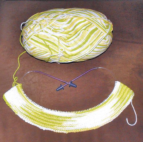 yellowgreen dish towel
