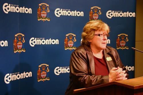 Edmonton Clerk Alayne Sinclair