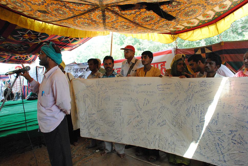 Pics from the satyagraha - 2 Oct 2010 - 34
