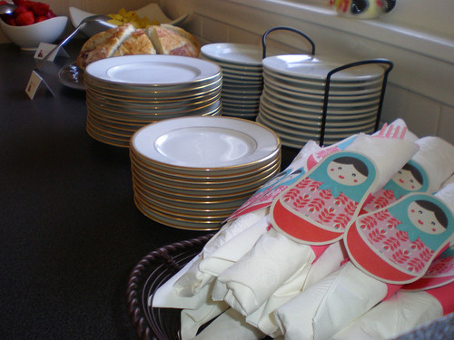 matryoshka baby shower goodies
