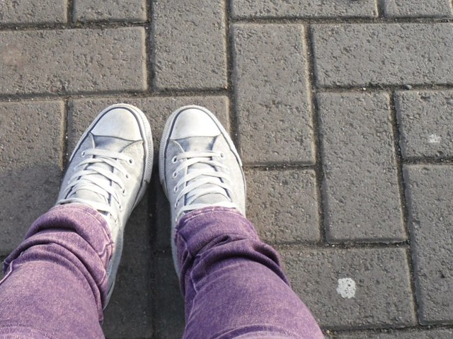 Jeans and Converse
