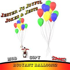 Buoyant Balloons
