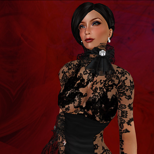 Temptress Gown - Close