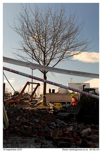 Christchurch earthquake clean up 3
