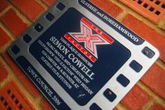 Simon Cowell Plaque