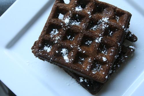 Chocolate Stout Waffles