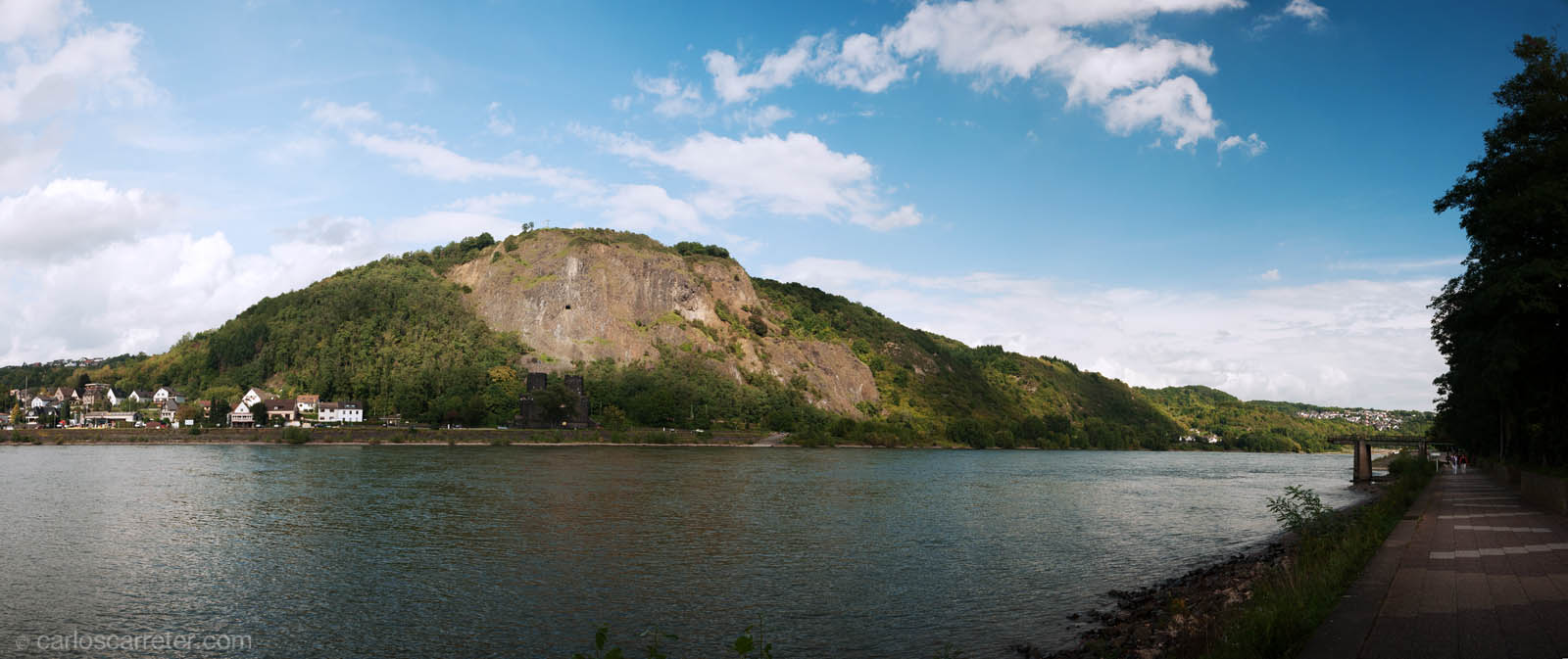 El Rin en Remagen