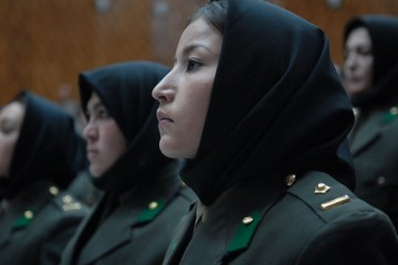 Afghan National Army Female Officers