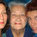 three generations Mo, Mom & Des