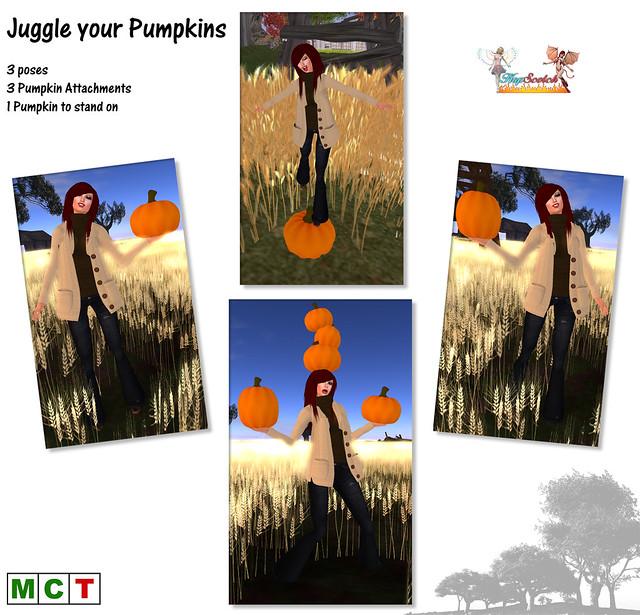 Juggle your pumpkins