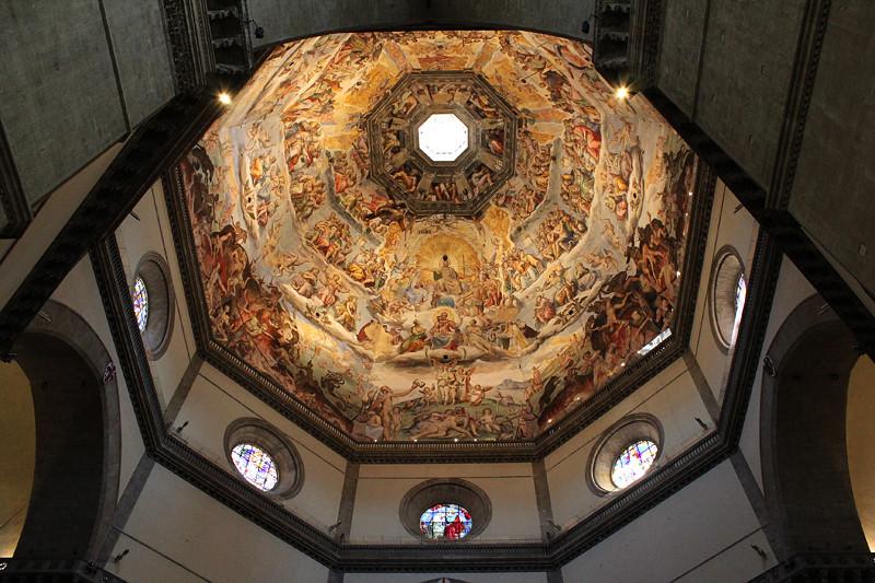 The magnificent dome of Basilica di Santa Maria del Fiore