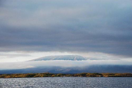 Volcano on Isabela