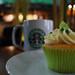 Lime Cupcake at Starbucks