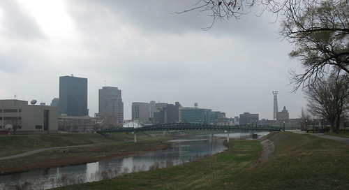 Dayton from Webster St, 2010