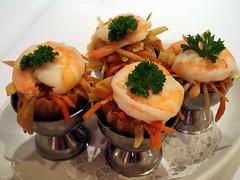 Kweh pi tee (香脆金杯) at Gourmet Garden, Hendon, ...