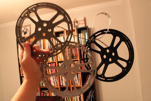 Movie Reels wall hanging
